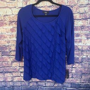 AGB Women's Top NWT Size Large